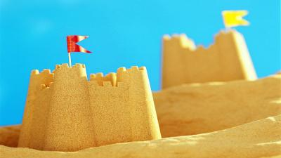Sand Castle Computer Wallpaper 61997