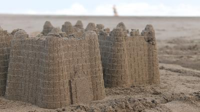 Sand Castle Wallpaper Background Pictures 61996