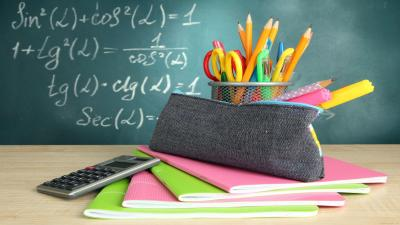 School Supplies Wallpaper Background HD 61718