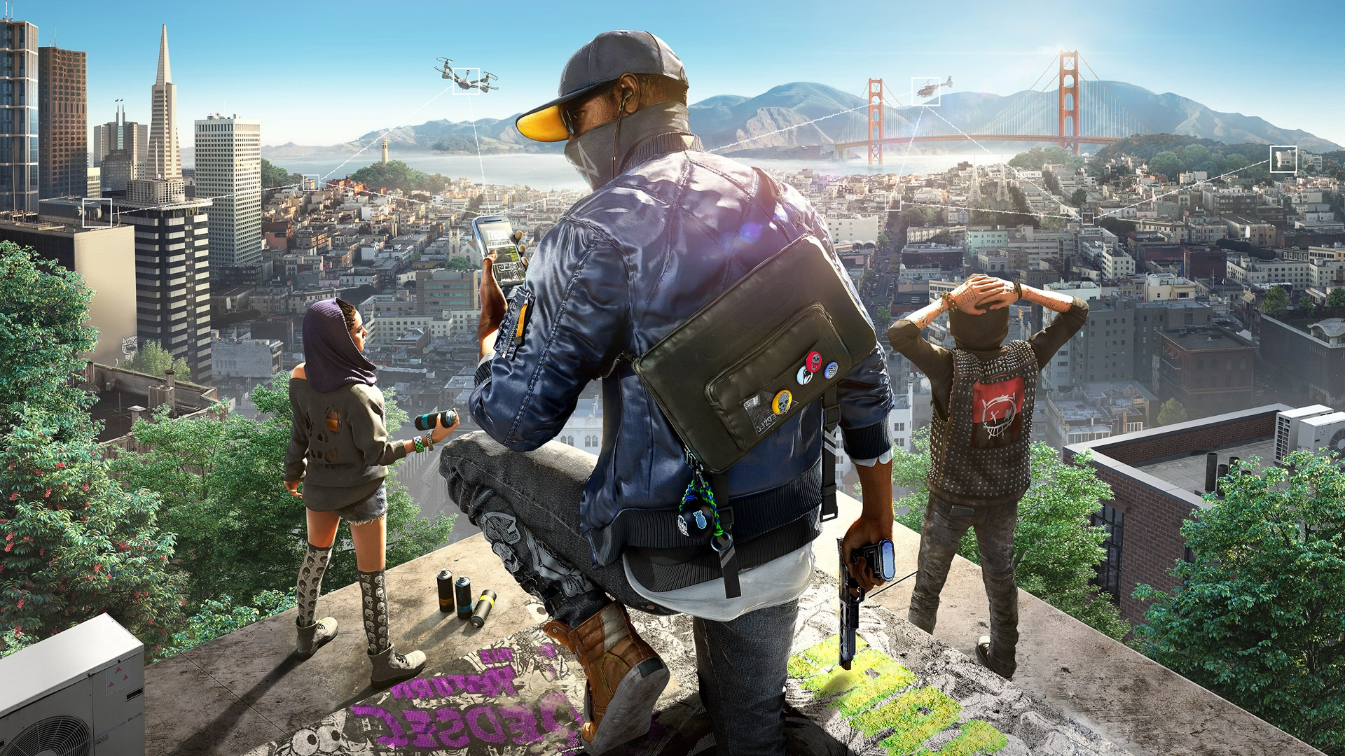 watch dogs 2 game wallpaper 62011