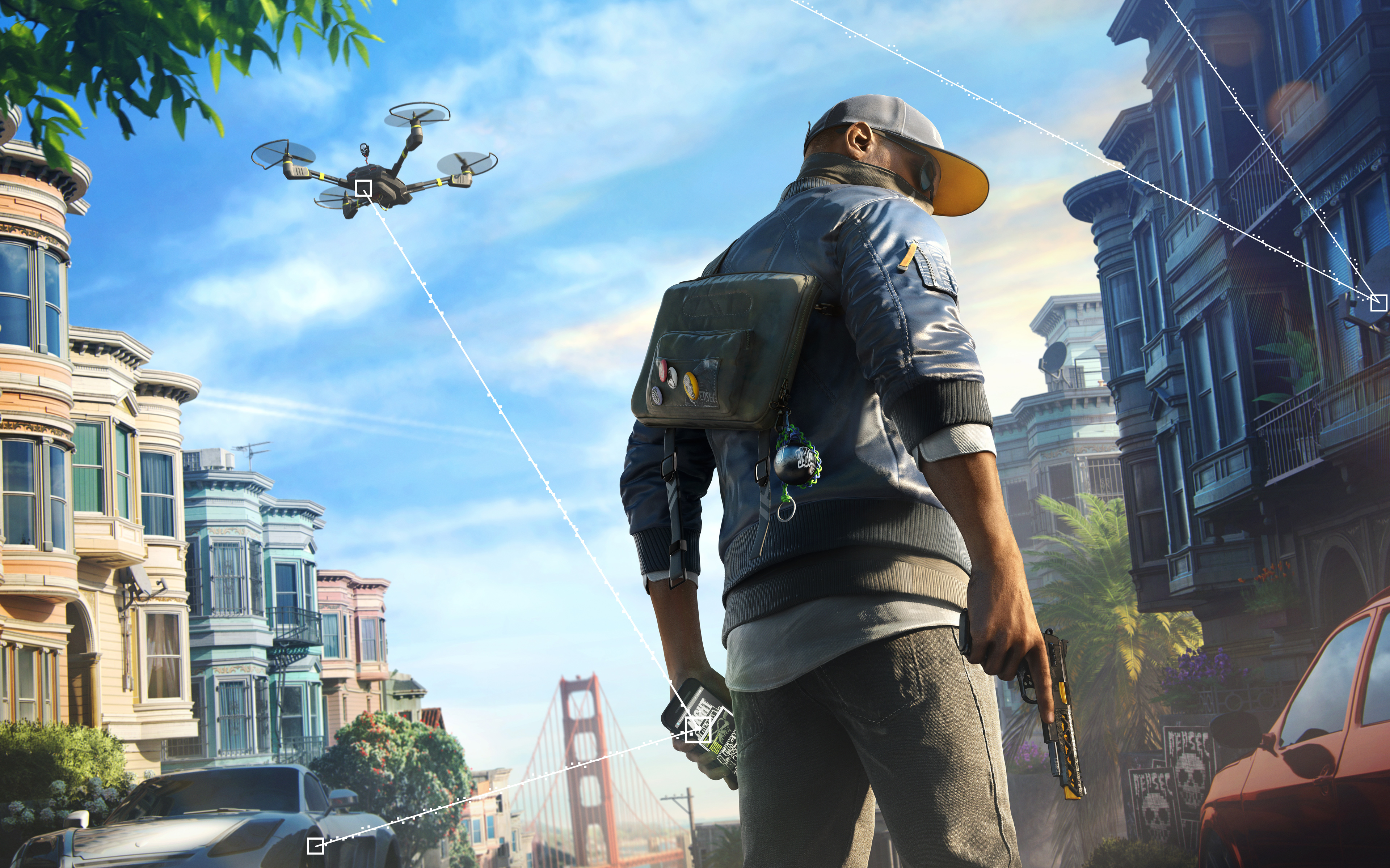 watch dogs 2 wallpaper background 62010