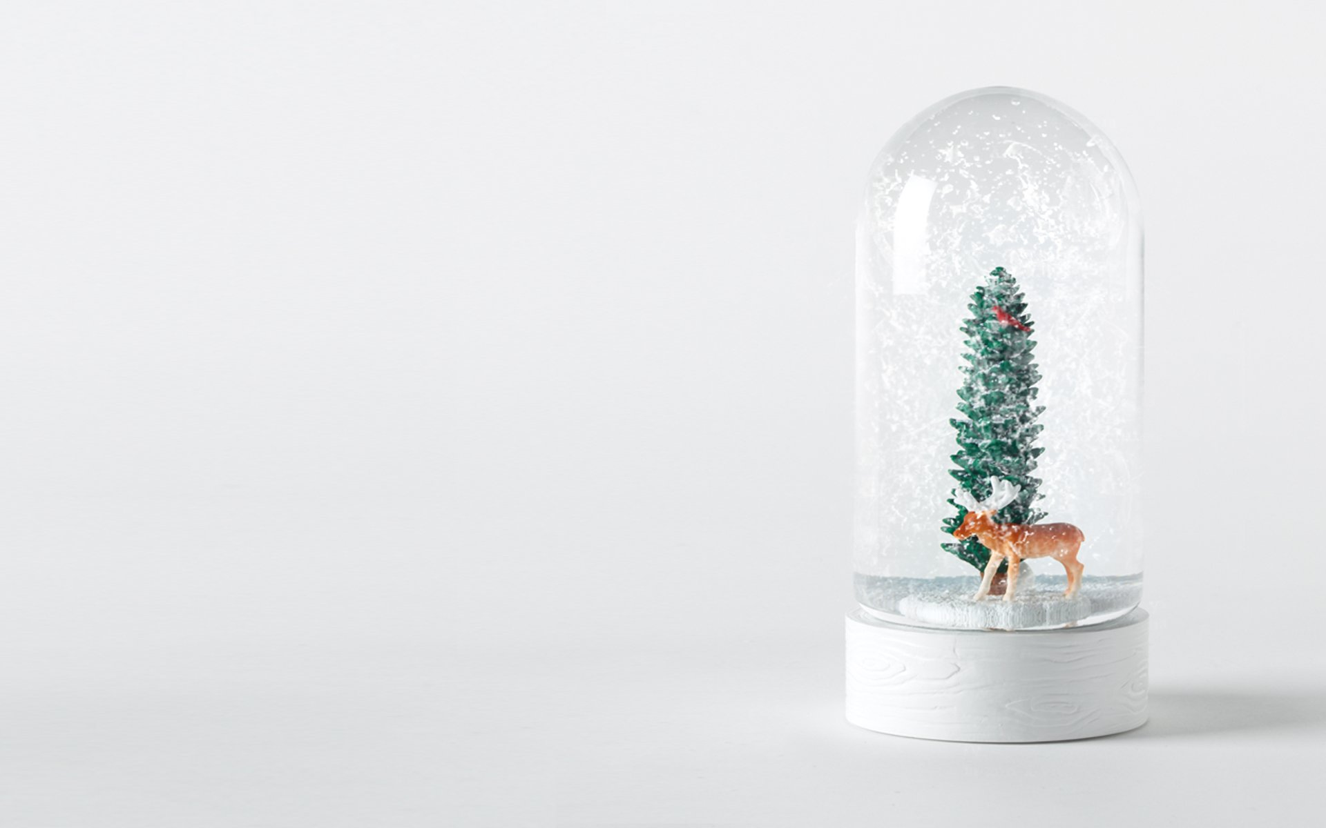 Holiday Snow Globe Wallpaper 62421