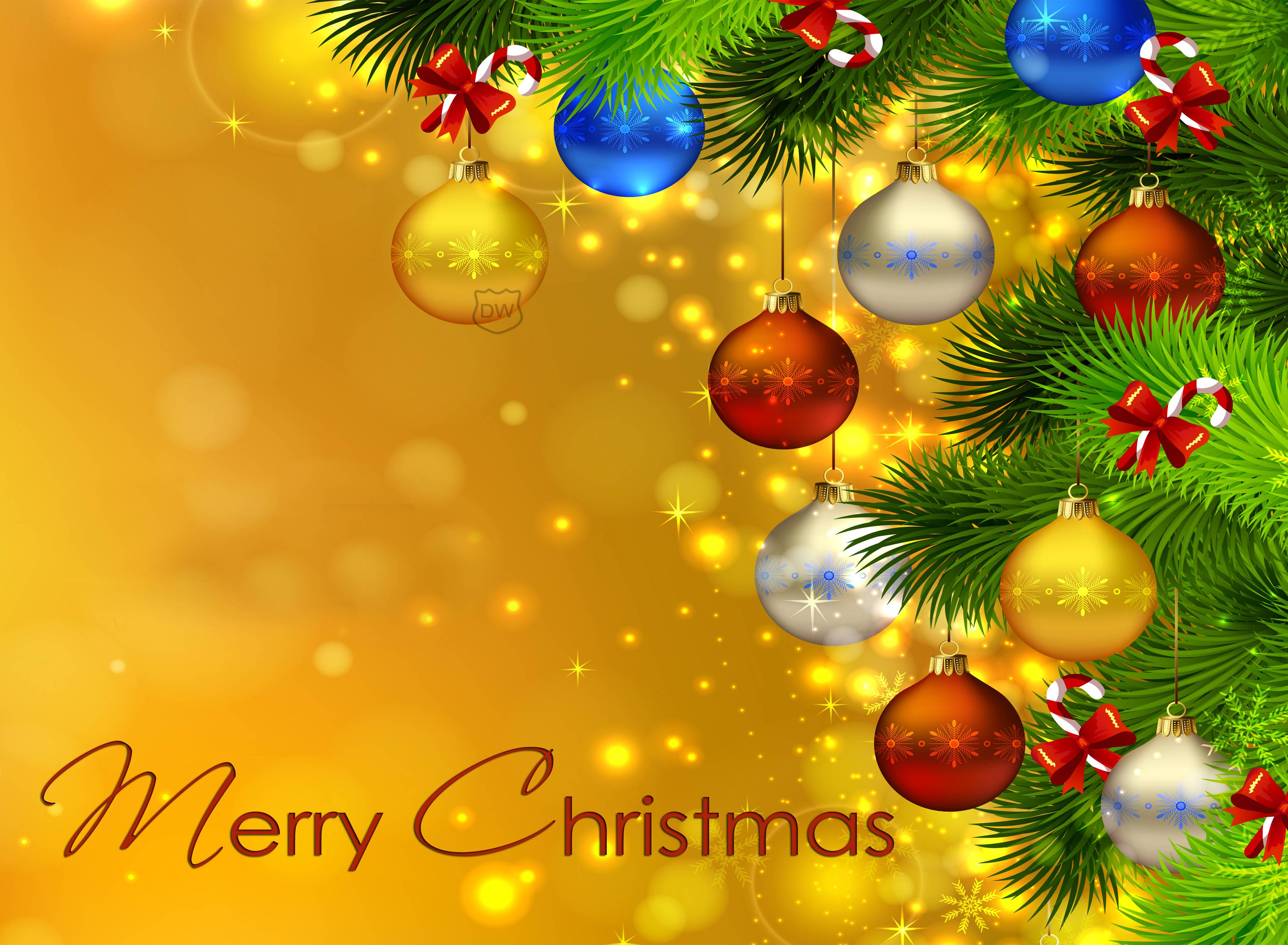 merry christmas widescreen wallpaper background 62420