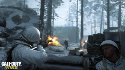 Call Of Duty WWII Video Game Wide Wallpaper 62269