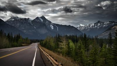 Canada Mountain Road Wallpaper 61832