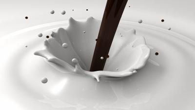 Chocolate Milk Abstract Art Widescreen Wallpaper 60027