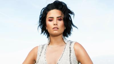 Demi Lovato Makeup HD Widescreen Wallpaper 62201