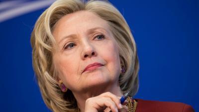 Hillary Clinton Face Widescreen Wallpaper 59742