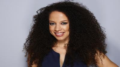 Natalie Gumede Smile Widescreen Wallpaper 60798