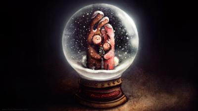 Snow Globe Wallpaper 62423