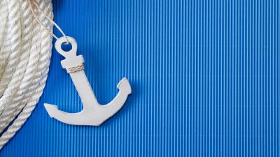 White Anchor Desktop Wallpaper 59732
