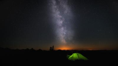 Windows 10 Camping HD Wallpaper 60392