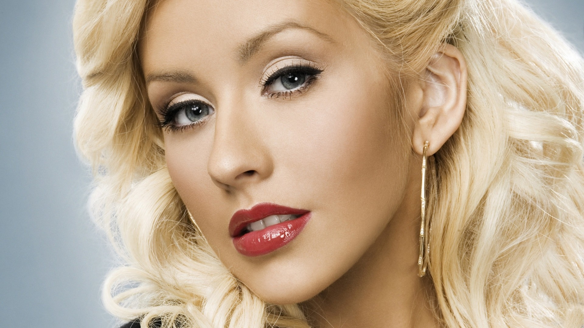 christina aguilera face hd wallpaper 59853