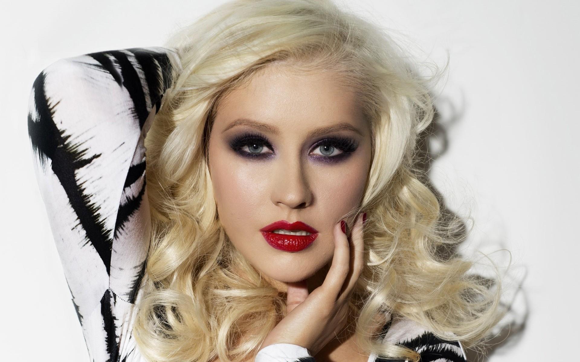 christina aguilera makeup desktop wallpaper 59844