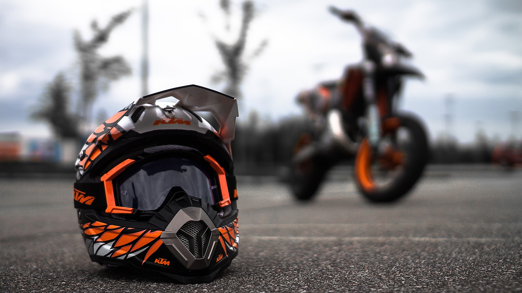 ktm helmet desktop wallpaper 60564