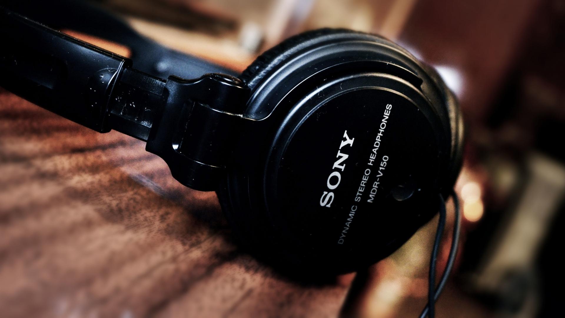 sony headphones desktop wallpaper 61802