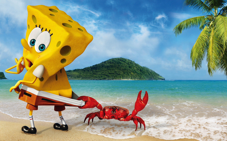 spongebob widescreen hd wallpaper 59869