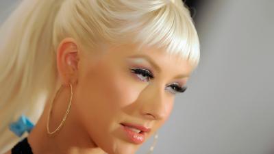 Christina Aguilera Face Wallpaper 59842