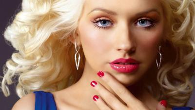 Christina Aguilera Makeup Wallpaper Background 59843