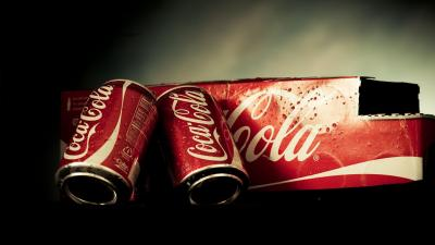Coca Cola Cans Wallpaper Background 61362