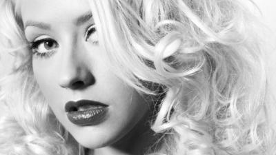 Monochrome Christina Aguilera Wallpaper 59845