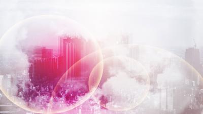 Pink Cityscape Artwork Wallpaper 62428