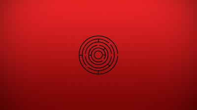 Red Maze Wallpaper Background 61182