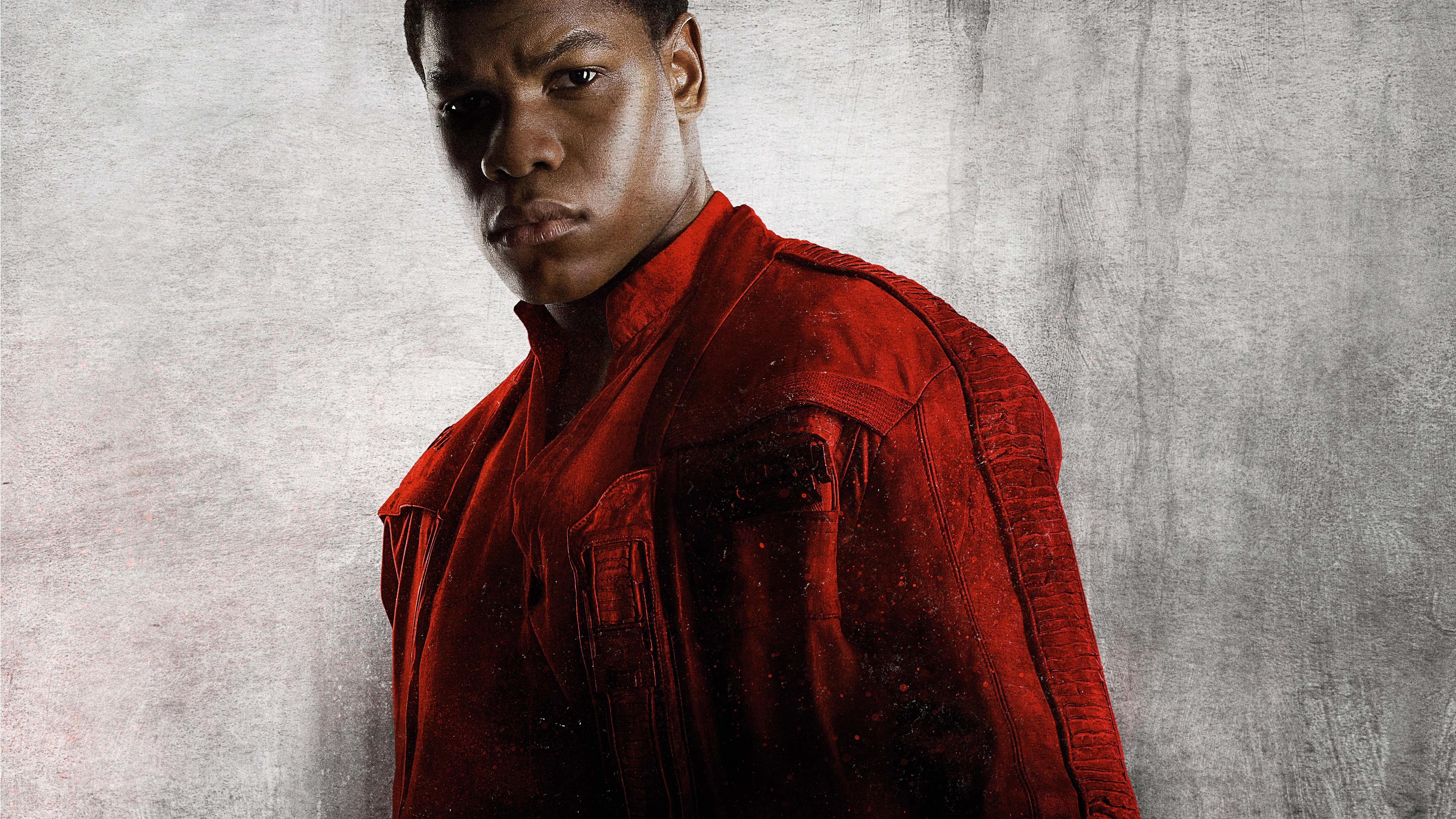 Star Wars The Last Jedi Finn Wide Wallpaper 62375 3840x2160px