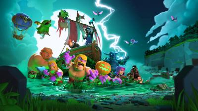 Clash Of Clans Halloween Wallpaper Background 62283