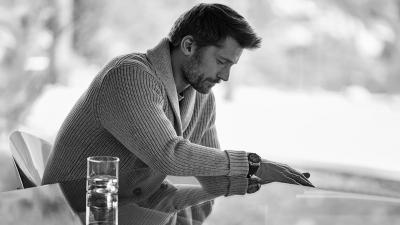 Monochrome Nikolaj Coster Waldau Wallpaper 61578