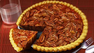 Pecan Pie Digital Art Desktop Wallpaper 62424