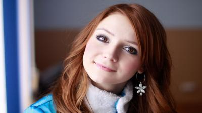Redhead Girl Widescreen Wallpaper 61280