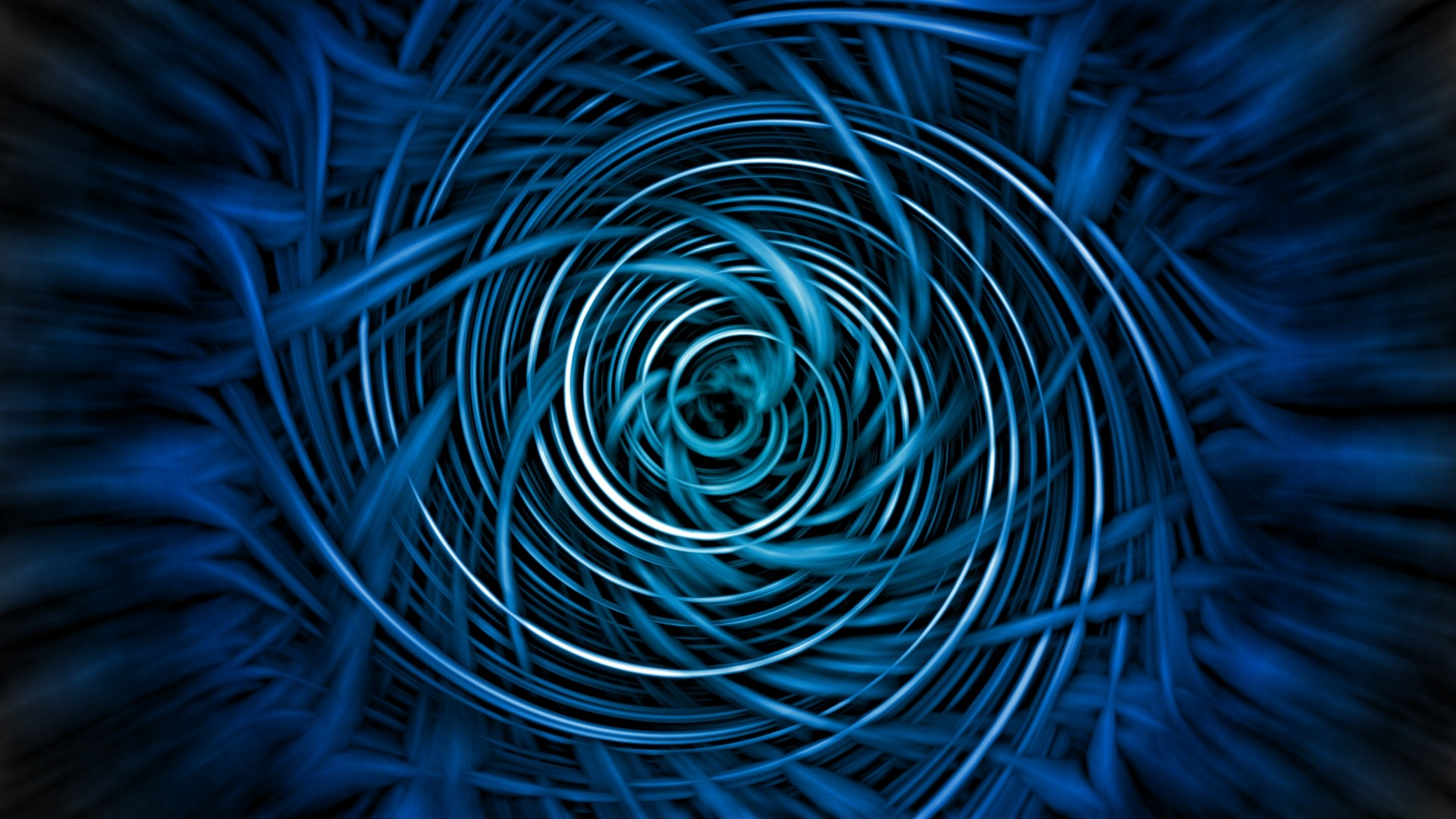 blue spiral desktop wallpaper 60461