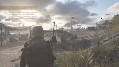 Call Of Duty WWII Headquarters Desktop Wallpaper 62225