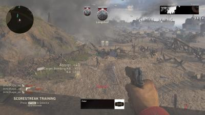 Call Of Duty WWII Scorestreak Training Triple Kill Wallpaper 62227