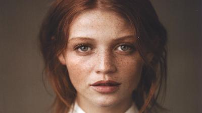 Cintia Dicker Face Freckles Wallpaper 60439
