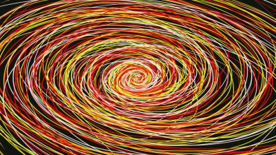 Colorful Abstract Spiral Wallpaper 60459