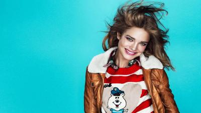 Happy Natalia Vodianova Wallpaper 61149