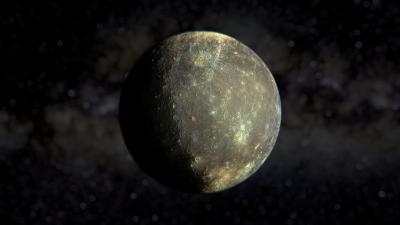 Mercury Planet Desktop Wallpaper 62397