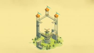 Monument Valley Video Game Wallpaper Background 62312