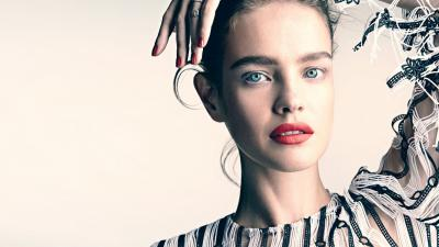 Natalia Vodianova Makeup Wallpaper 61148
