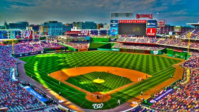 Nationals Baseball Field Wide Wallpaper 61178