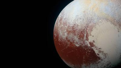 Pluto Widescreen HD Wallpaper 62402