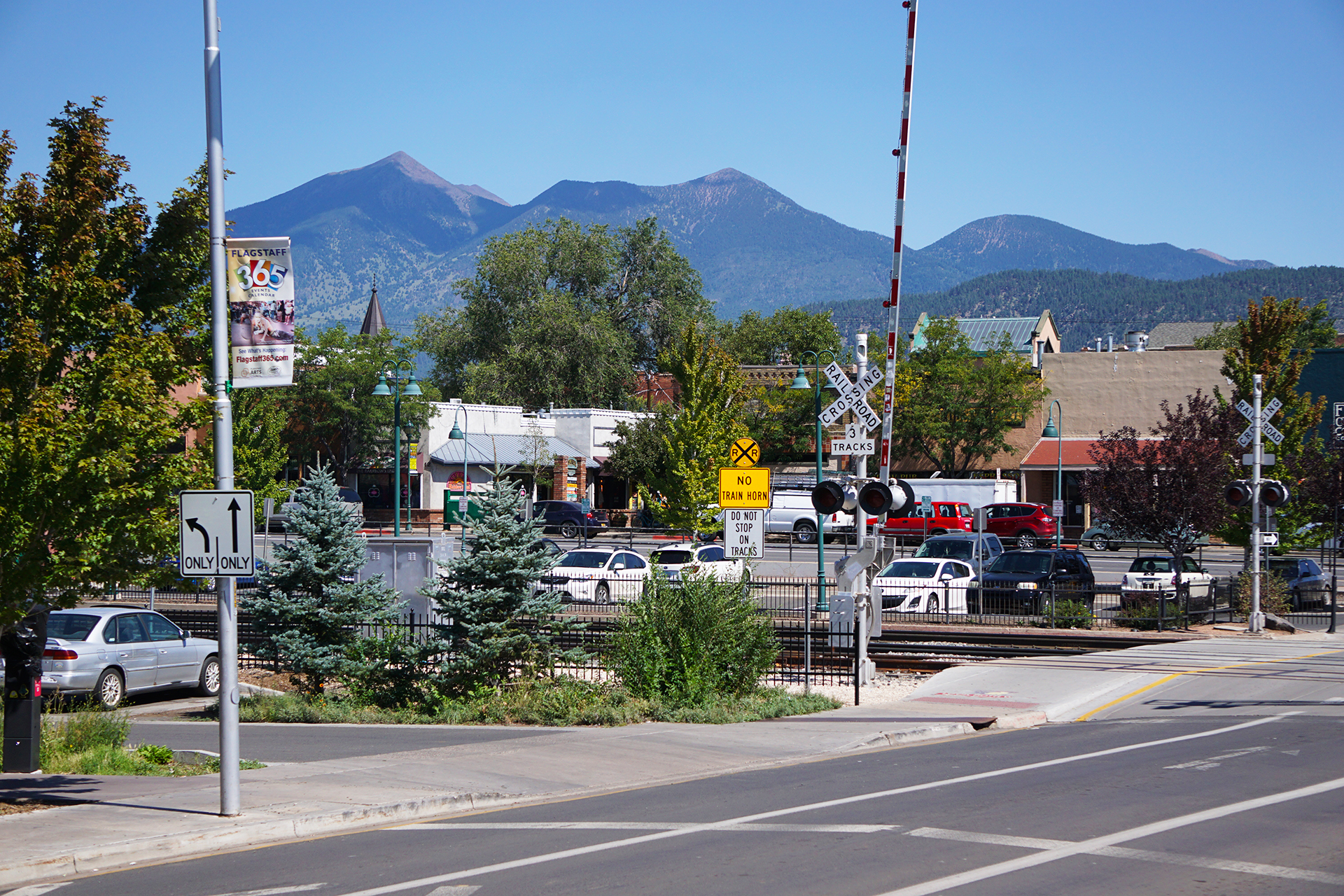 downtown flagstaff arizona desktop wallpaper 61764