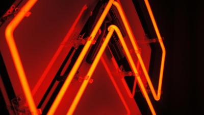 Awlter Orange Neon Sign Wallpaper 61774