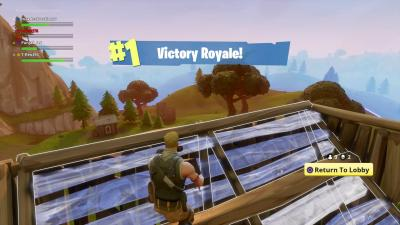 Fortnite Battle Royale Victory Wallpaper 62319
