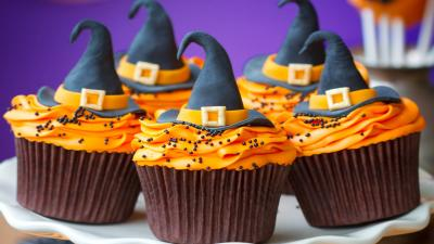 Halloween Muffins Desktop Wallpaper 61315