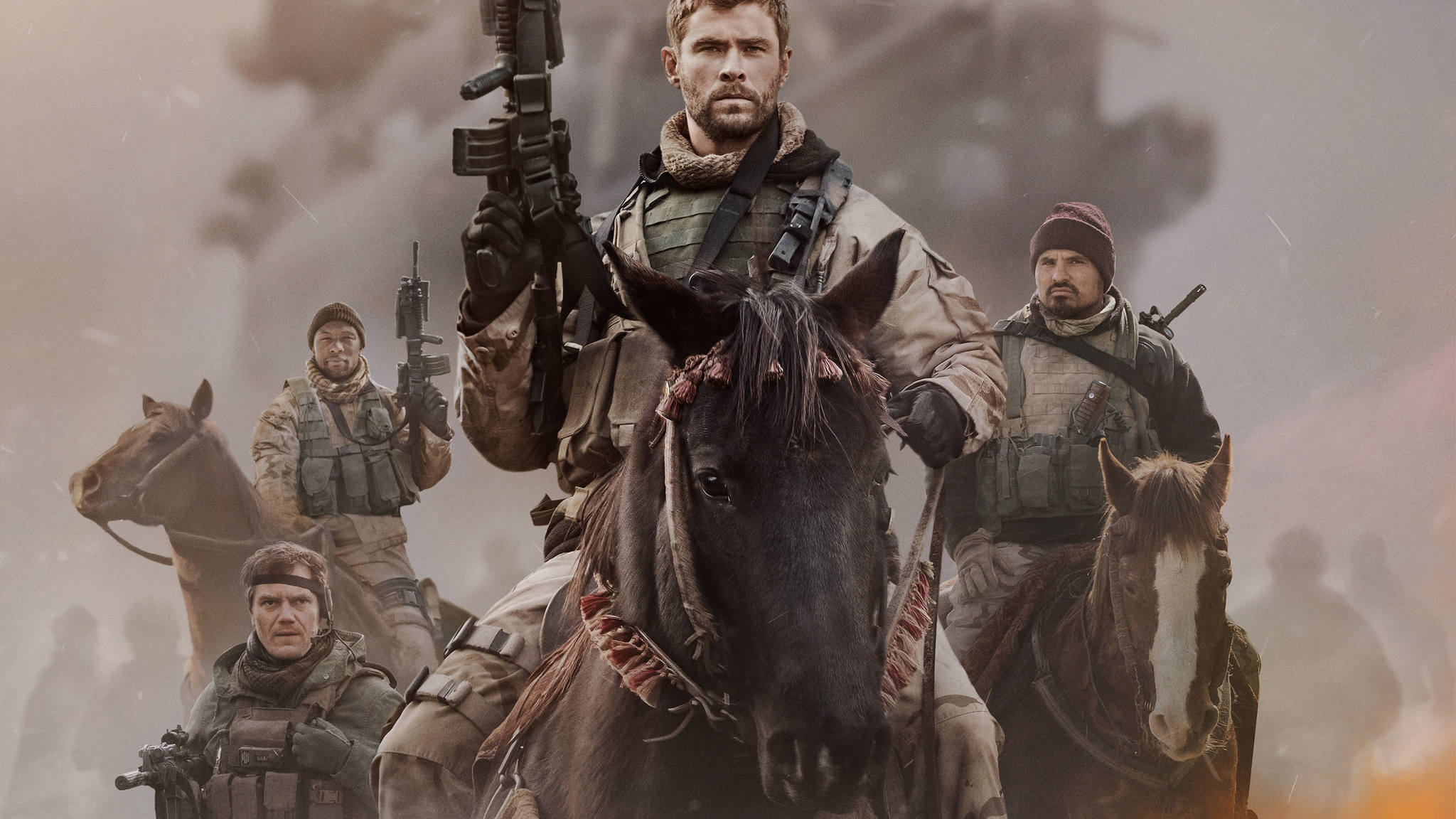 12 strong movie wallpaper 62503