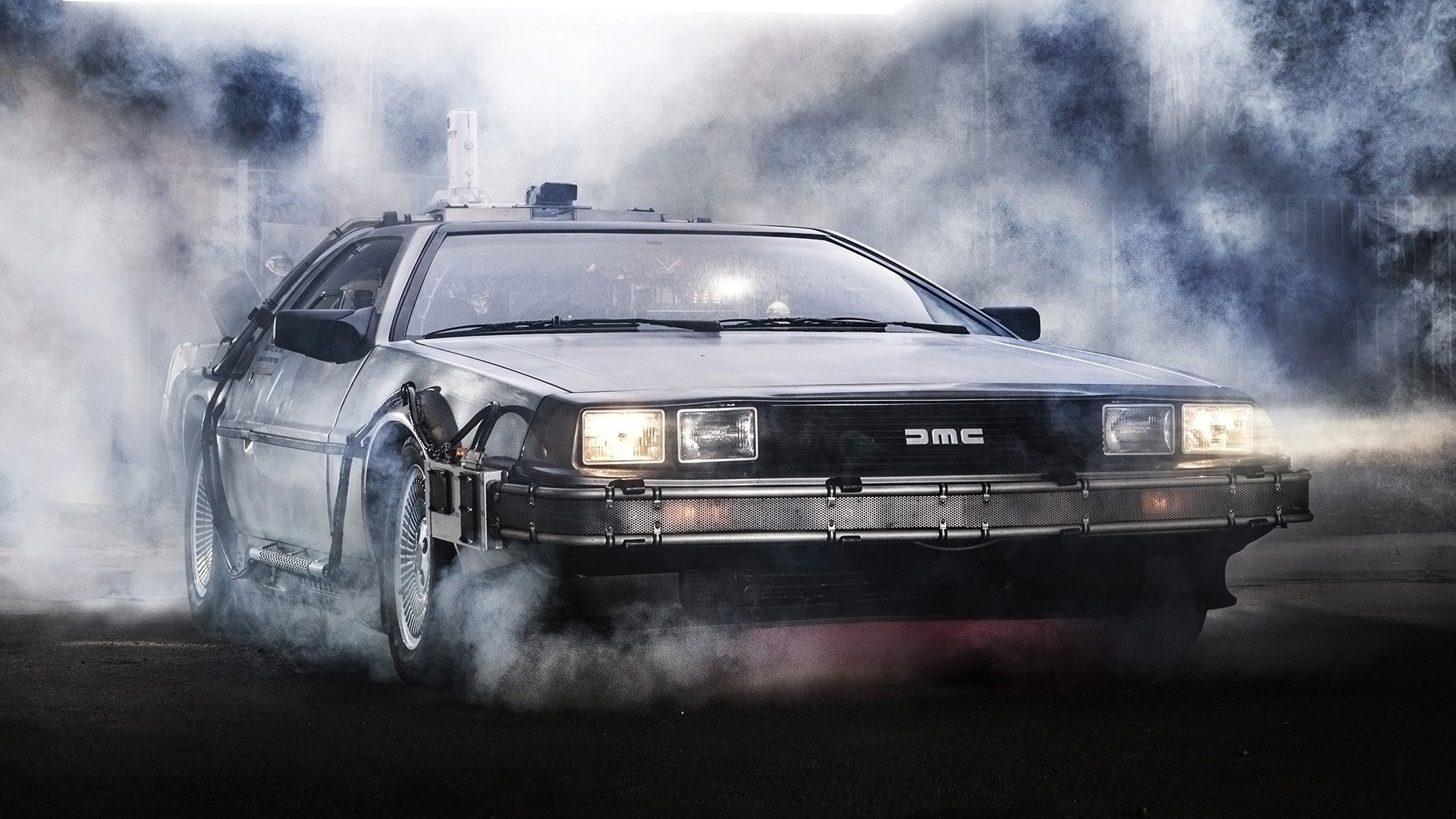 dmc delorean wallpaper 62494