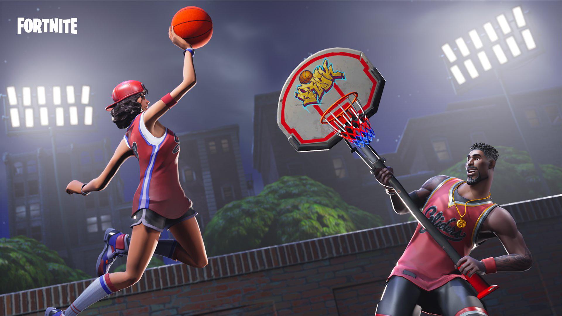fortnite basketball skins wallpaper 64128